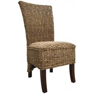 Bananen-Stuhl aus Holz mit Innenpolster
