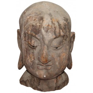 Alte Buddha-Kopf