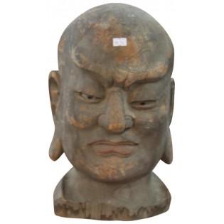 Alte chinesische Buddha-Kopf