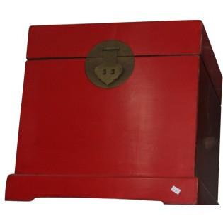 kleine rote Kofferraum