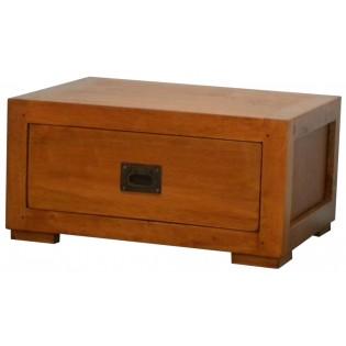 Licht Nachttisch mit einer Schublade