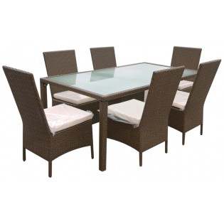 Tisch und 6 Stuhle