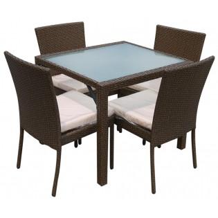 Tisch und 4 Stuhle