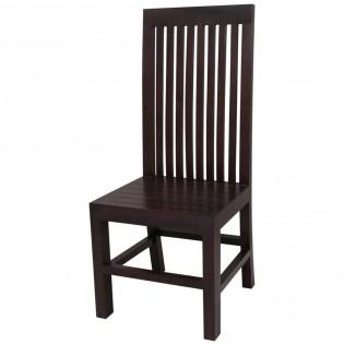 Chair ethnischen dunklen Holz