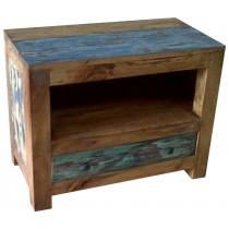 Möbel aus recyceltem holz  Niedrige Möbeln aus recyceltem Holz