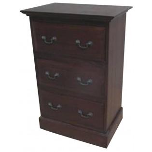 3-drawers mahogany furniture