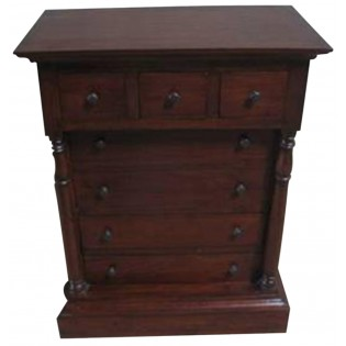 chest of drawers with columns