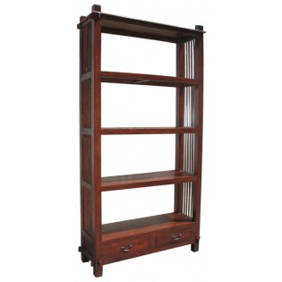 Stock open bookcase