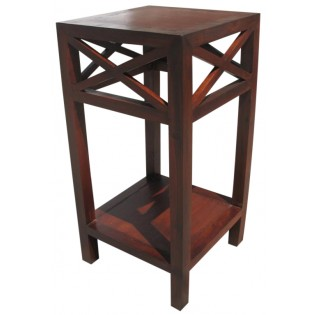 high side table in teak