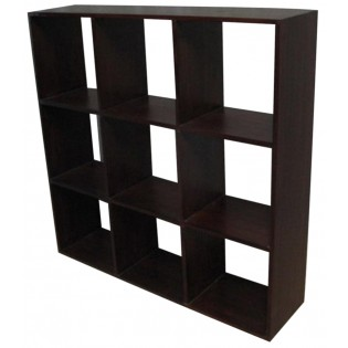 Open square bookcase