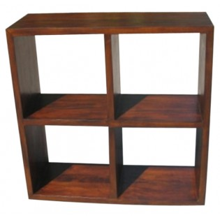 Open square small bookcase