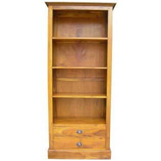 Light bookcase with drawers