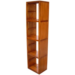 module of 4 in teak and bamboo