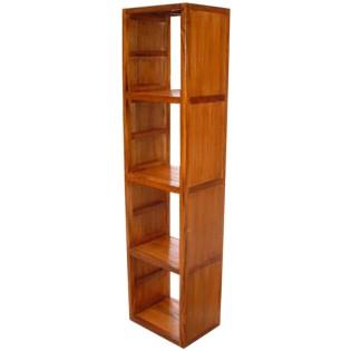 module of 4 in teak and bamboo