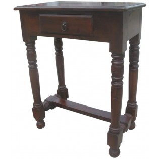 Indonesian coffee table with one drawer
