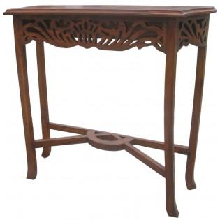 mahogany console from Indonesia