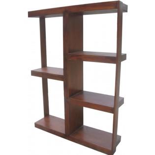 Open bookcase in teak
