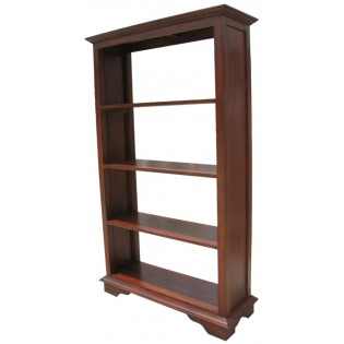Indonesian bookcase with four shelves