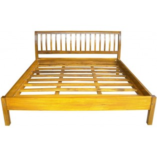 bed in acacia