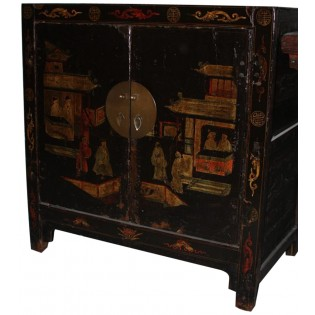 Ancient Chinese piece of furniture decorated