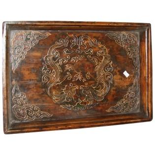 Antique Mongolian tray