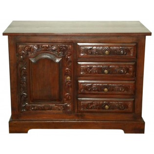 small buffet with drawers