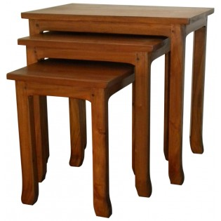 coffee table in light mahogany (middle)