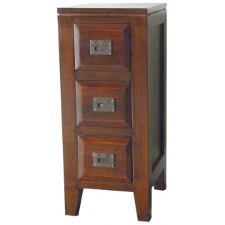3-drawers bedside table