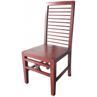 Indonesian chair in mahogany
