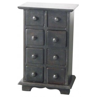 jewel case with 6 drawers