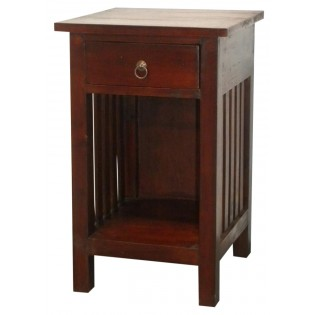 bedside table with small drawer