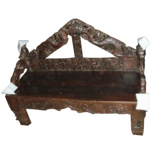 Notched bench