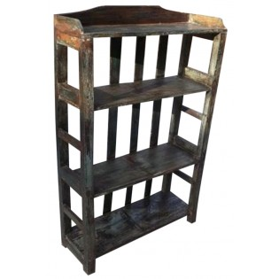 Open Indian 3-shelves bookcase