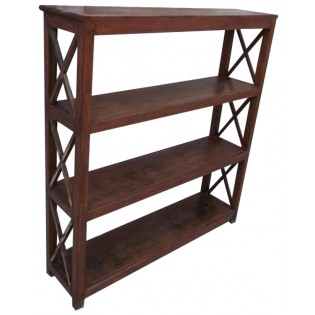 Open bookcase from India