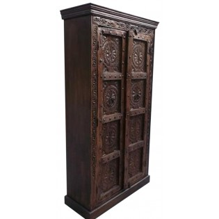 Indian carved wardrobe