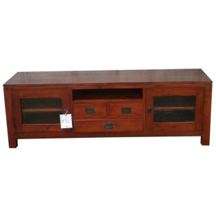 TV cabinet in mahogany