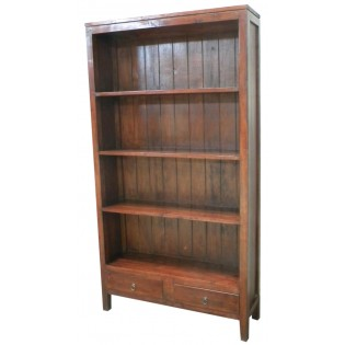 Bookcase in mahogany from Indonesia