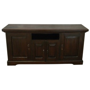 Indonesian buffet in mahogany
