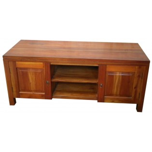 Mahogany TV unit from Indonesia
