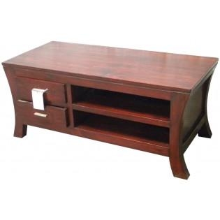 TV unit in mahogany
