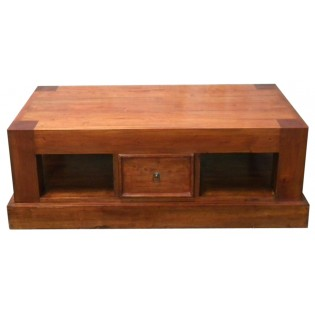 Mahogany low-rise table