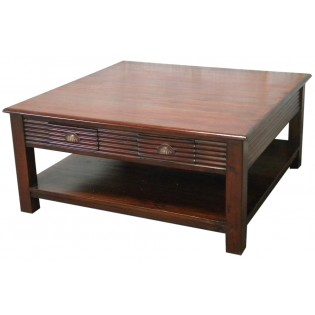 Mahogany low-rise table from Indonesia