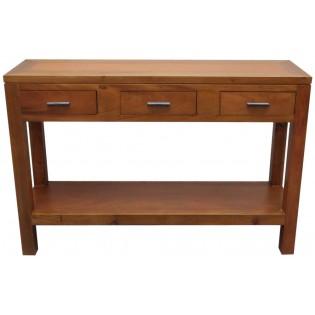 Light mahogany console