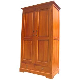 Light mahogany wardrobe