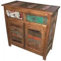 Recycled wooden sideboard from India