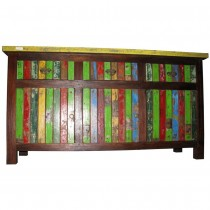 ethnic Sideboard in recycling wood with three drawers