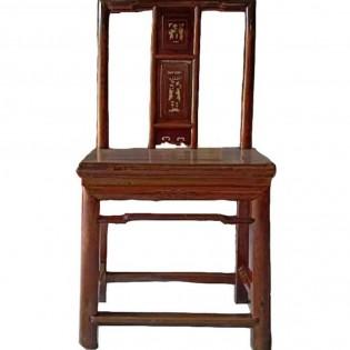 Chaise chinoise en bois