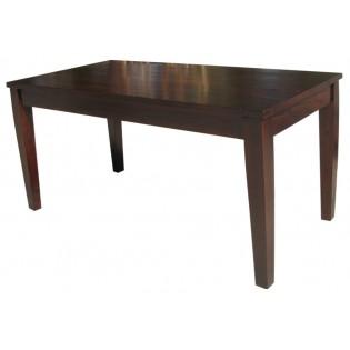 Table en acajou 160 cm