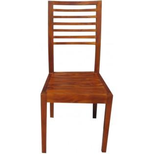Chaise en acajou