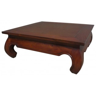 Table opium motif carre